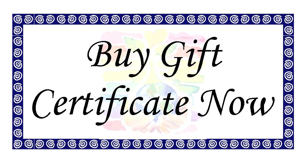 Buy Gift Certificate Now